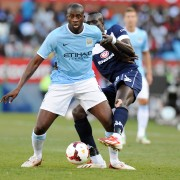 FOOTBALL : Supersport United vs Manchester City - Match amical - Pretoria - 14/07/2013